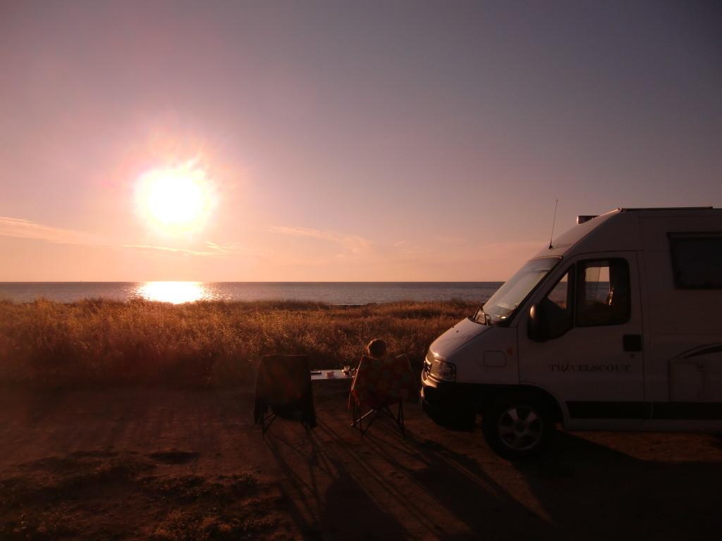 Globecar Travelscout (Sicilië zomer 2012)