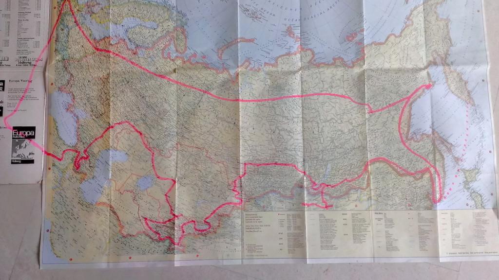 Magadan reis (lijkt op Bobby van Kuifje)