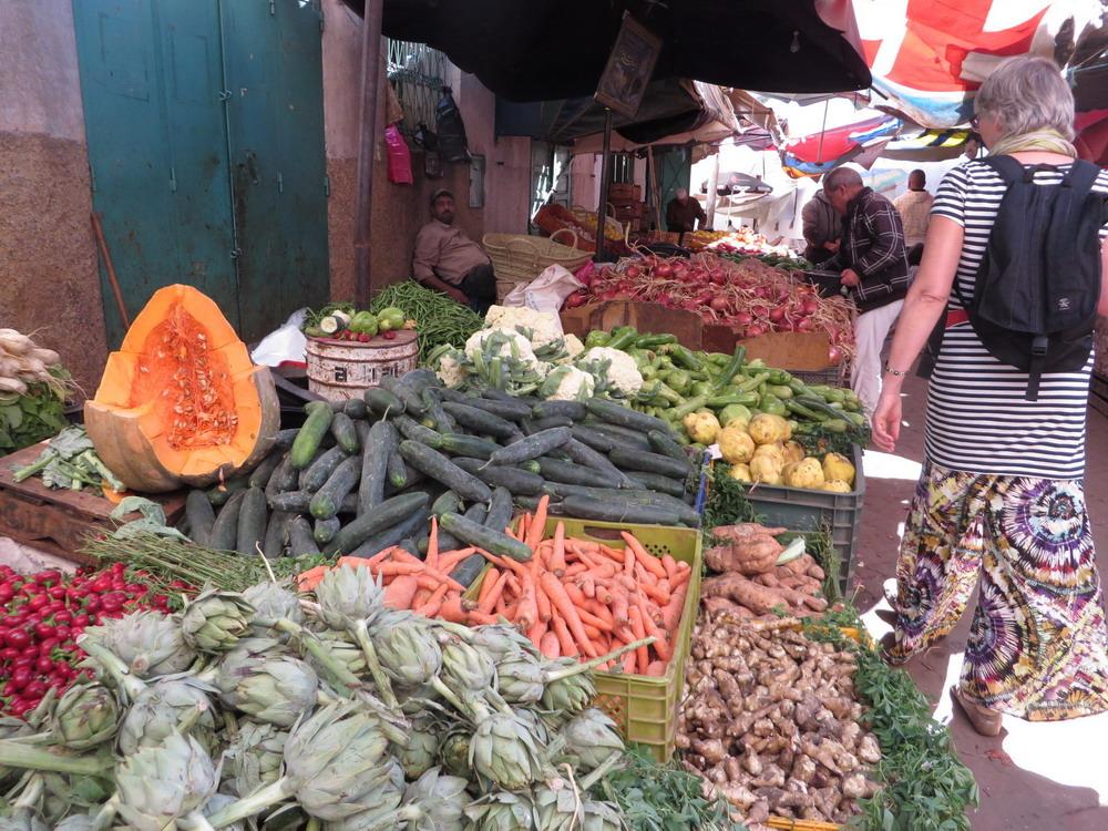 groente markt  Sefrou
