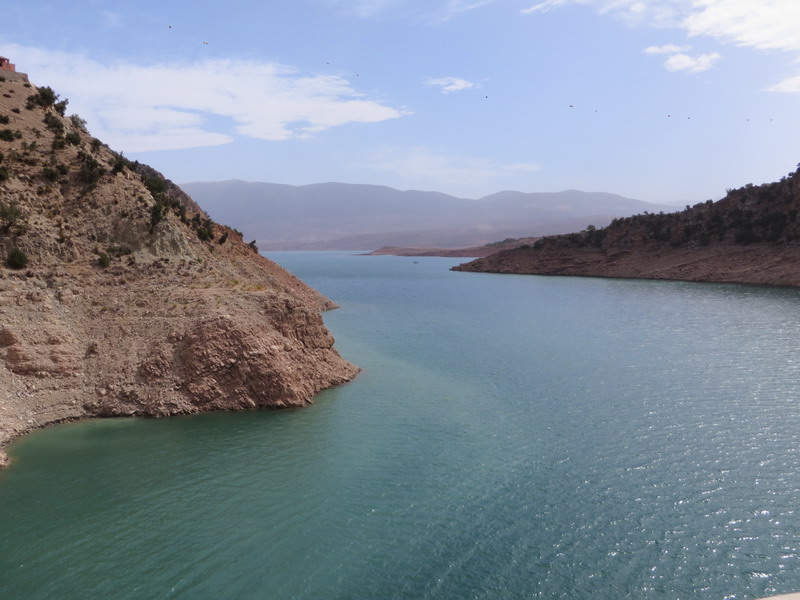 stuwdam (Bin-el_ouidane)