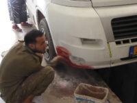 Tafraoute, garage Mohamed